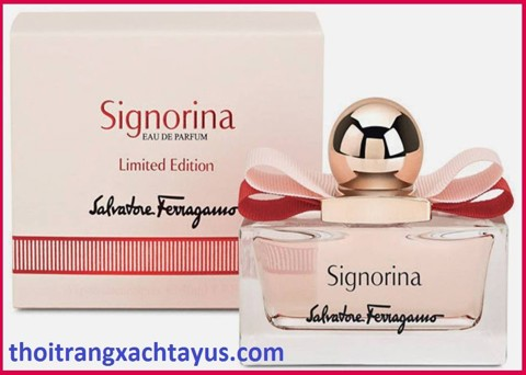 "NH 19 - NƯỚC HOA "" Salvatore SIGNORINA "" Limited Edition eau de Parfum 100 ml"