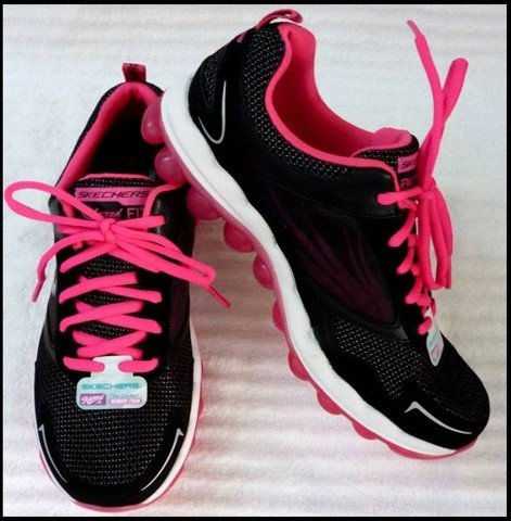 "G 07 - GIẦY THỂ THAO NỮ "" SKECHERS -AIR "" size 7.5 US = 37 VN cực nhẹ"