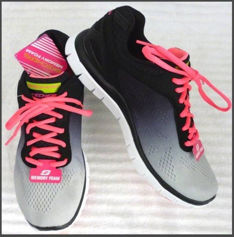 "G 08 - GIẦY THỂ THAO NỮ "" SKECHERS -running "" size 8.5 US = 38 VN cực nhẹ"