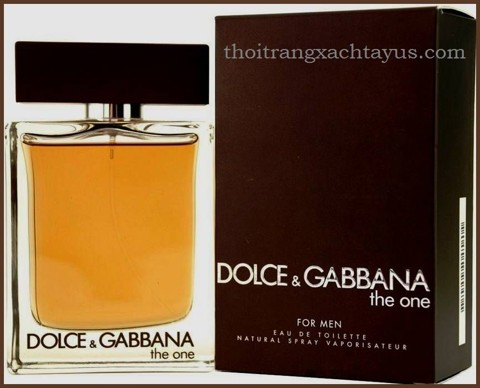 "NH 21 B - NƯỚC HOA HIỆU "" D & G GabBanna THE ONE FOR MEN  "" 100 ml"
