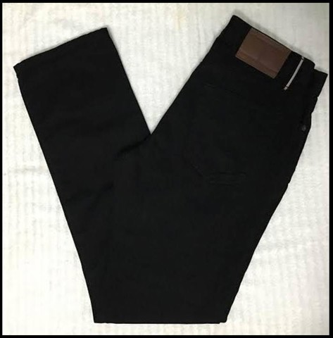 "QN104 - QUẦN JEAN "" TOMMY HILFIGER ""slim fit/ màu đen SIZE 30 /32 (made in mexico)"