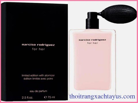 "NH 11 - NƯỚC HOA "" NARCISO RODRIGUEZ  for her Limited Edition "" Parfum 75ml / FRANCE"