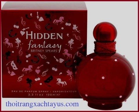 "NH 86 - NƯỚC HOA "" BRITNEY SPEARS Hidden Fantasy "" Eau de parfum 100 ml"