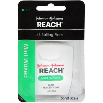 Chỉ nha khoa Reach Waxed Mint Dental Floss