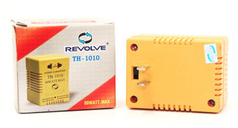 Adapter đổi điện 220V <=> 110V, Revolve TH-1010, 80 Watt.