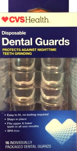 Hàm nhựa chống nghiến CVS Health Disposable Dental Guards
