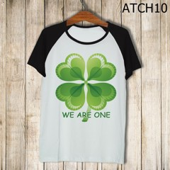 Áo We Are One cỏ 4 lá -ATCH10