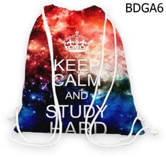 Túi rút  KEEP CALM & STUDY HARD - BDGA6