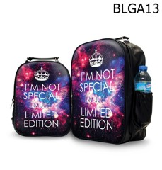 Ba lô in hình galaxy I'M NOT SPECIAL I'M JUST LIMITED EDITION - BLGA13