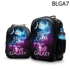 Ba lô in hình Keep Calm And Love Galaxy - BLGA7