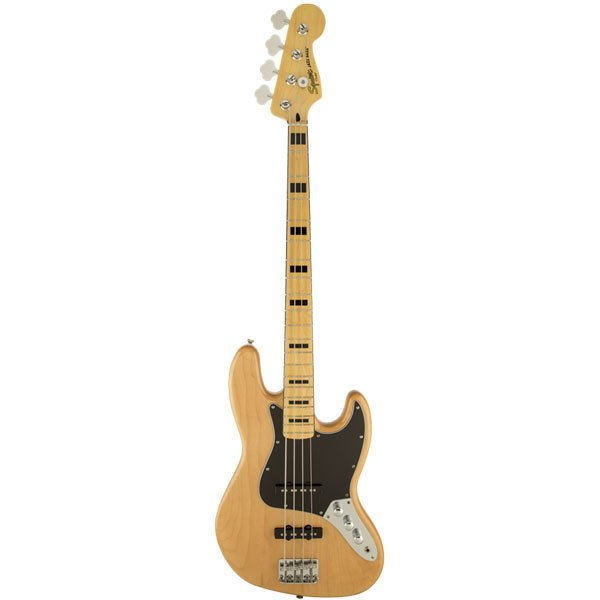 FENDER 0306702521 SQ VM JAZZ BASS '70S NAT