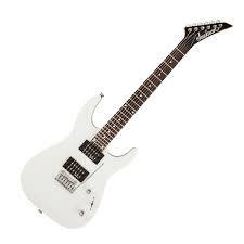 JACKSON 2910111576 JS Series Dinky™ JS12, Rosewood Fingerboard, Gloss White