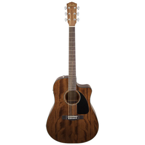 FENDER CD-60CE ALL MAHOGANY w/ Case  0961590221