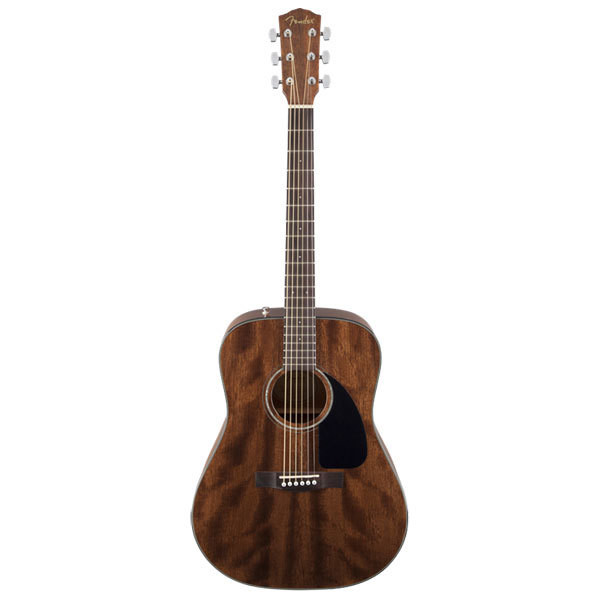 FENDER CD-60 ALL MAHOGANY w/ Case 0961596221