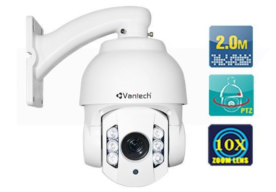 Camera Speed Dome HDCVI VANTECH VP-302CVI (Trắng)