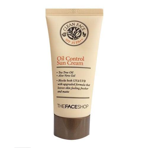 Clean face oil control sun cream spf35pa   c98749ef 7159 4328 5fdd b2efbac571fc eaac810f bd0e 42d8 7a39 c5b3bbd4f413 grande