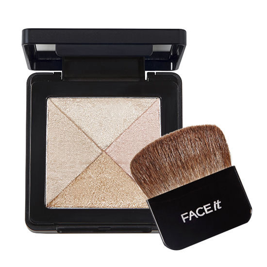 Phấn Tạo Sáng FACE IT ARTIST CUBE HIGHLIGHTER 01 SHIMMER