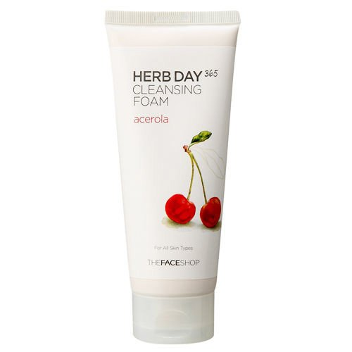 Sữa Rửa Mặt Herb Day 365 Cleansing Foam The Face Shop 6