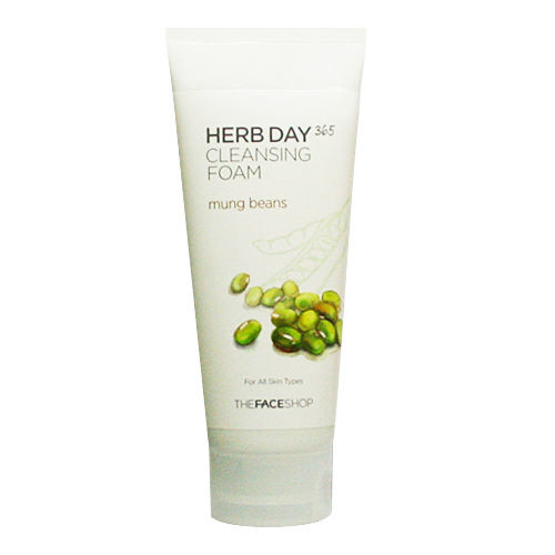 Sữa Rửa Mặt Herb Day 365 Cleansing Foam The Face Shop 5