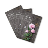 THEFACESHOP REAL NATURE PEONY FACE MASK (SET 3 PCS)
