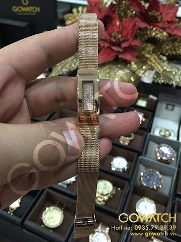 GUESS Women's G-Iconic Sophistication Crystal Rose Gold-Tone Watch