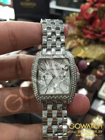 Michael Kors - Mid Size Stainless Steel - Multifunction Glitz Watch