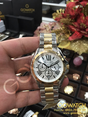 Michael Kors Bradshaw Gold/Silver Watch