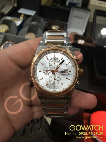 Kenneth Cole New York Chronograph with Date Two-tone Men's watch