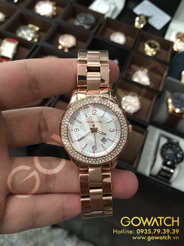 Michael Kors - Quartz Classic Rose Gold with White Dial Women's Watch