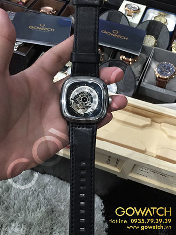 SevenFriday Silver/Rhodium 47mm Automatic Watch