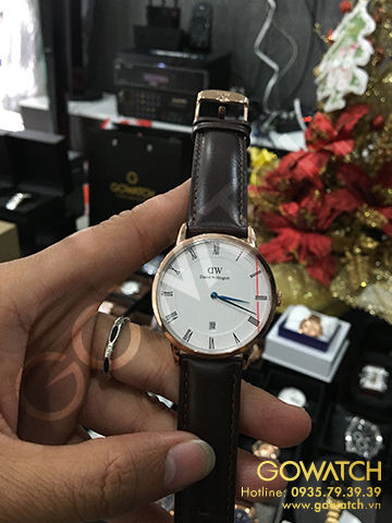 Daniel Wellington Dapper Bristol Rose Gold Watch