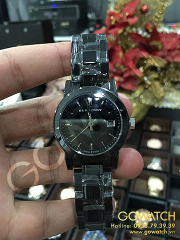 Burberry Black Ceramic Women's Watch