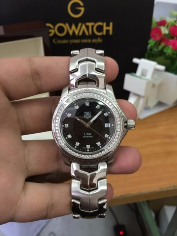 TAG Heuer Link  200 Meters Diamond Watch