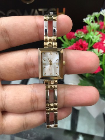 Anne Klein 4899SVTT Ladies Two-Tone Dress Watch