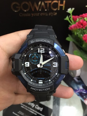 GA-1000-2BDR Casio G-Shock Wristwatch