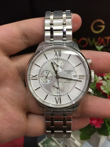 Tissot Men's Stainless Steel Automatic Watch Silver-Toned T0994271103800 (T099.427.11.038.00)