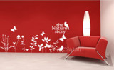 #NG032 The Nature Story - Decal dán tường - 3