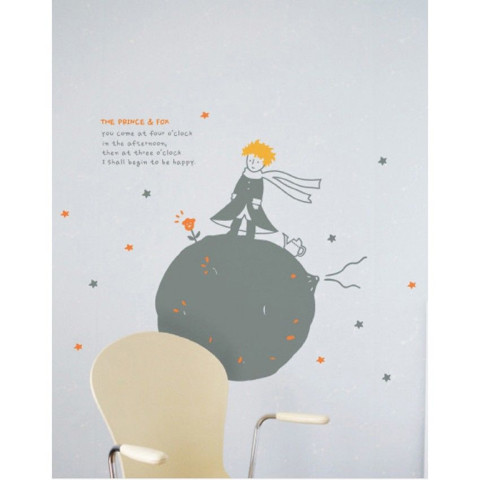 #BP008 Little Princess - Decal dán tường - 1