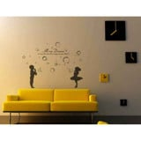 #BP011 Kids and Bubbles - Decal dán tường - 2