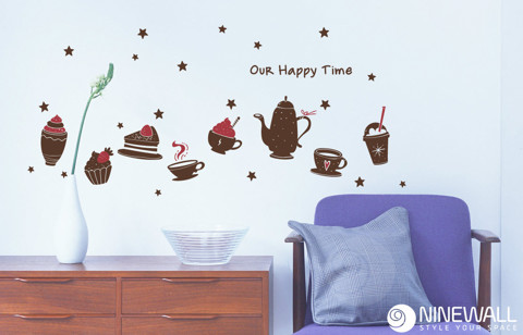 #DC036 Our happy time - Decal dán tường - 1