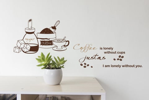 #DC039 Lonely without you - Decal dán tường - 1