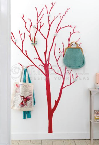 #DT010 Tree hanger 4 - Decal dán tường - 1