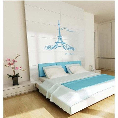 #FH004 The Sky Of Paris - Decal dán tường - 1