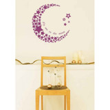 #BS006 The moon - Decal dán tường - 5