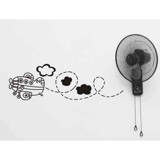 #BS009 My Lovely Aeroplane - Decal dán tường - 1