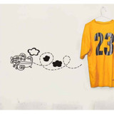 #BS009 My Lovely Aeroplane - Decal dán tường - 3