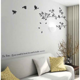 #NB009 Branches With Birds - Decal dán tường - 1