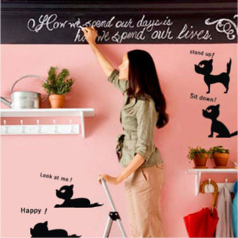 #NA009 Cats happiness - Decal dán tường - 1