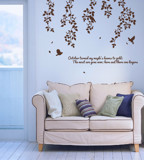 #NB021 Maple - Decal dán tường - 1