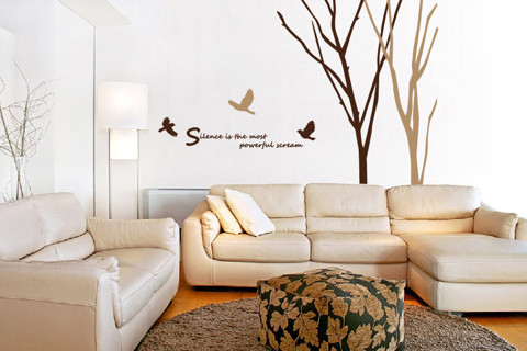 #ND009 Awake&Come - Decal dán tường